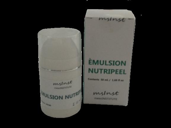 emulsion nutripeel mesoinstitute extracto caviar acido hialuronico colageno elastina rellena la piel firmeza arrugas piel madura peeling