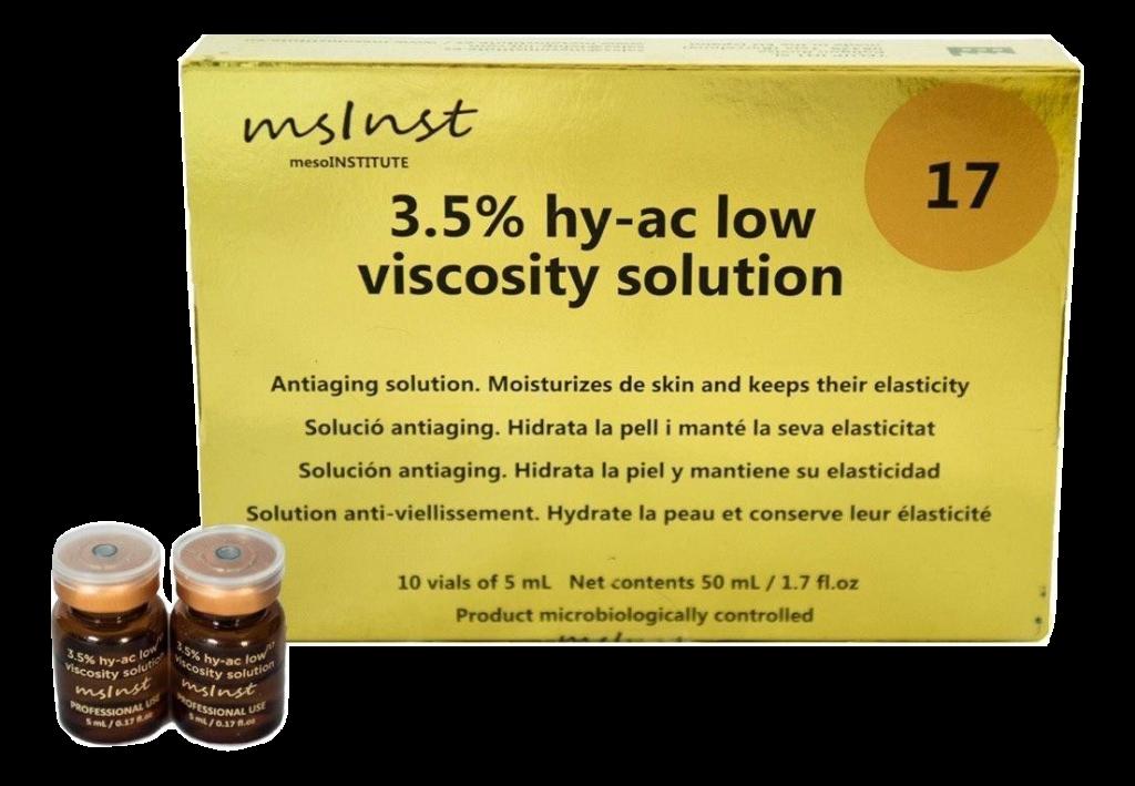 Hidratación, estimulación de la síntesis de Cólageno I. Anti aging mesoinstitute mesoterapia